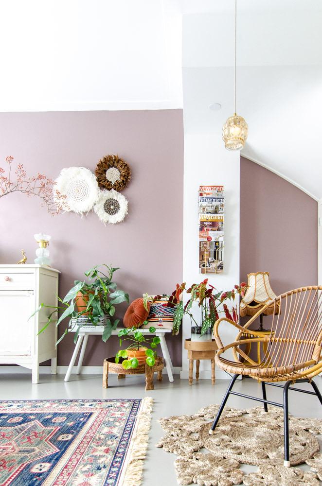 Roze Slaapkamer Accessoires.Een Oud Roze Muur Welke Kleur Kies Je Styled By Sabine