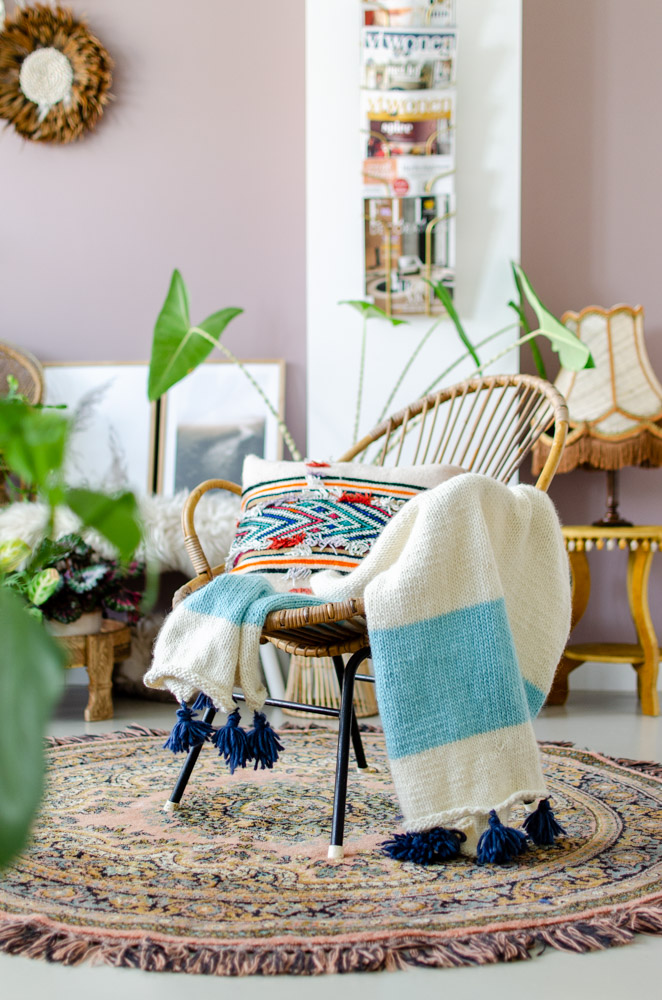 We Are Knitters The Kilim Blanket