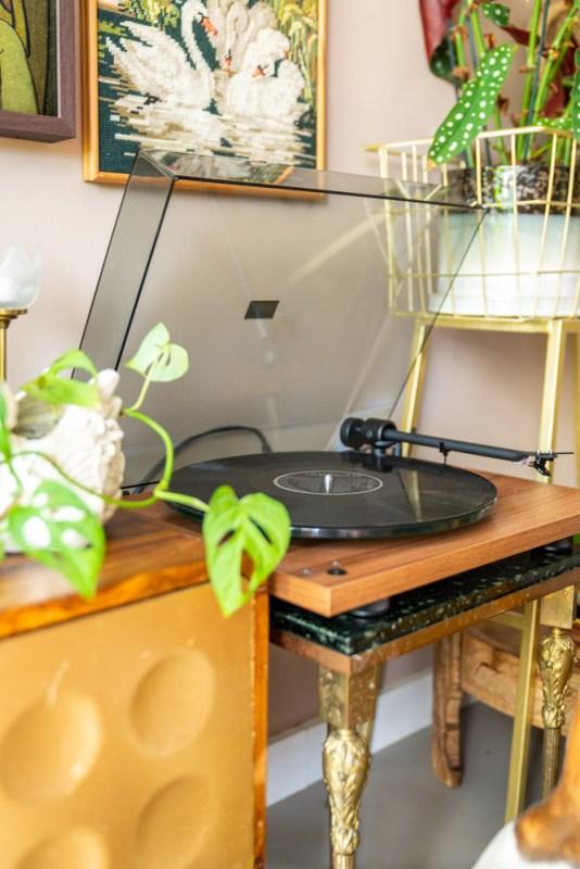 Sonos Five + Pro-Ject platenspeler