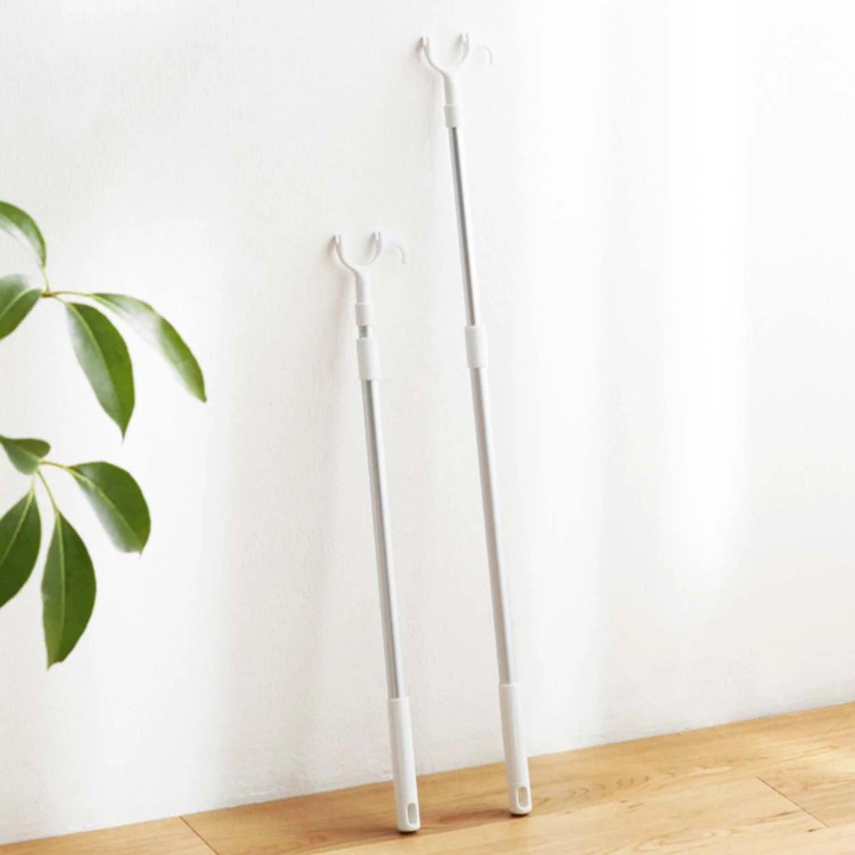 aluminium retractable laundry hanging rod sun easily style degree