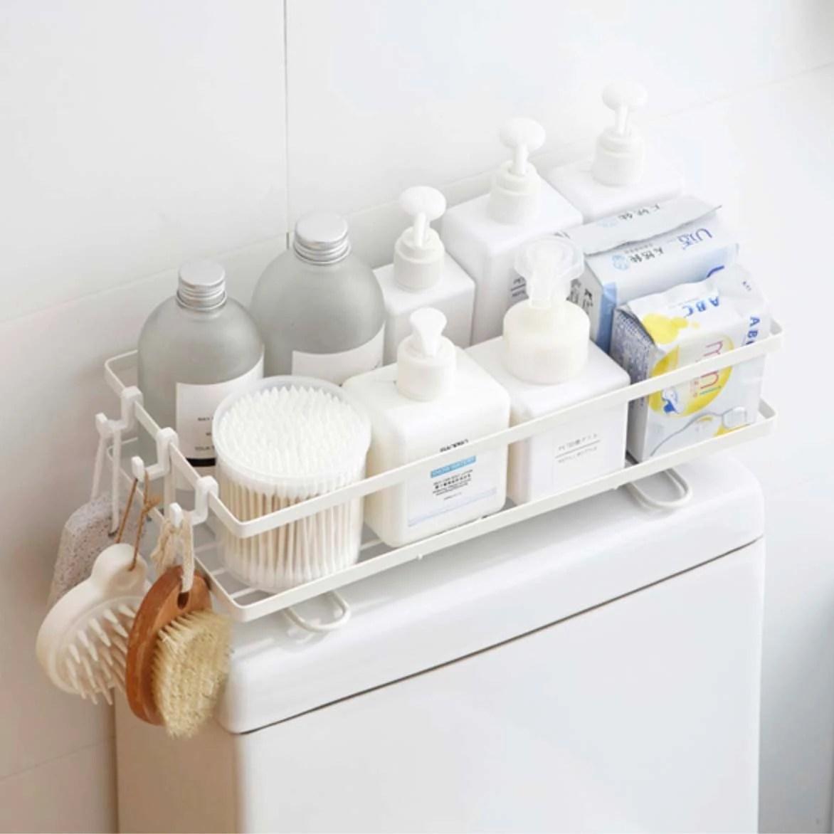 over the toilet storage organizer rack bathroom style degree