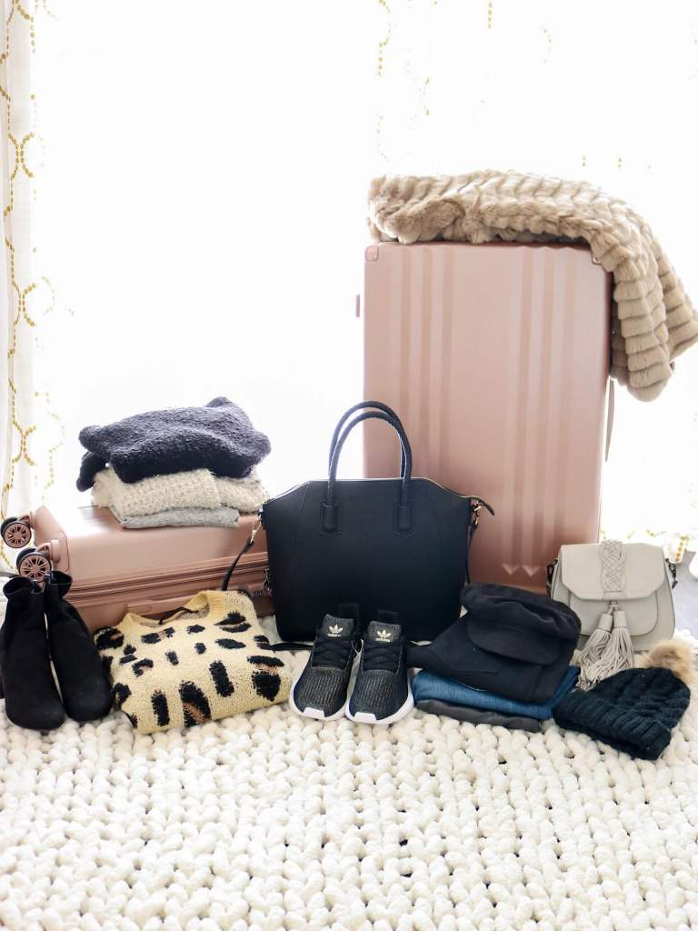 Winter Travel, What I'm Packing, Styled in Paradise blog, Jaylene Michelle