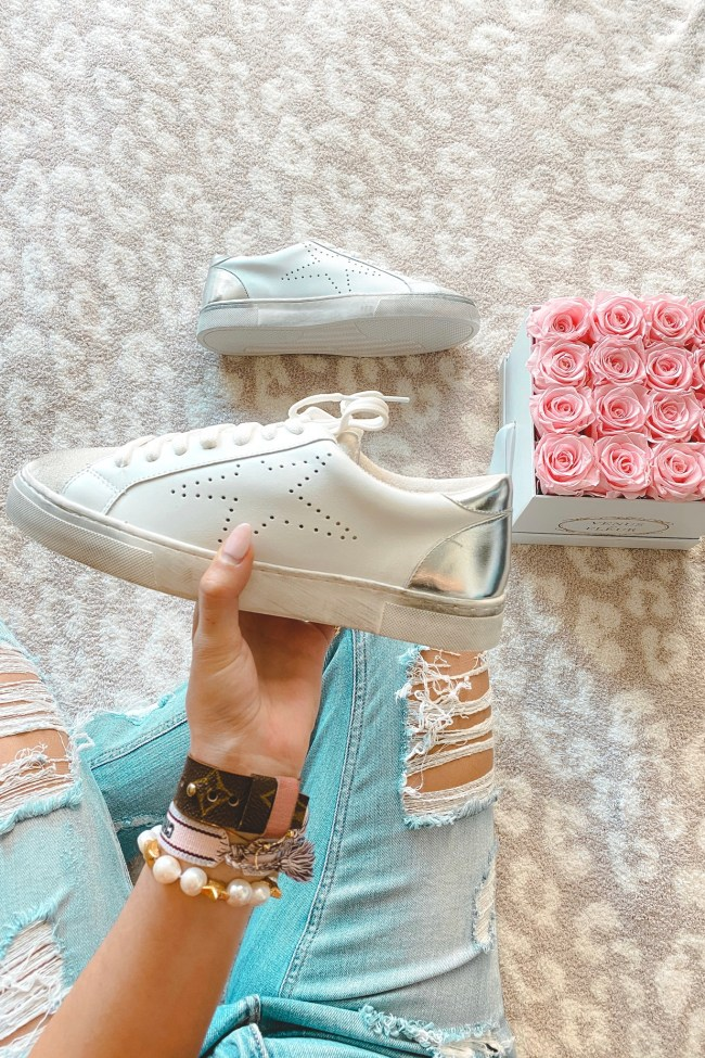 steve madden rezza sneakers with roses