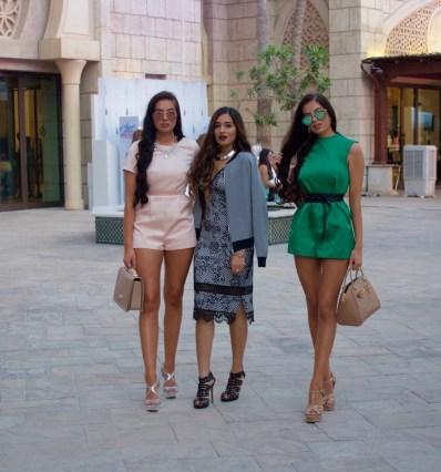 Beauty Bloggers at Fashion Forward Dubai