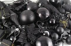 Black baubles