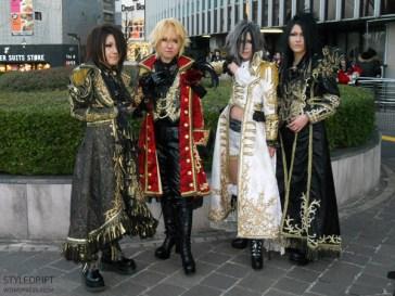 Versailles at Shibuya Kokaido, 2012