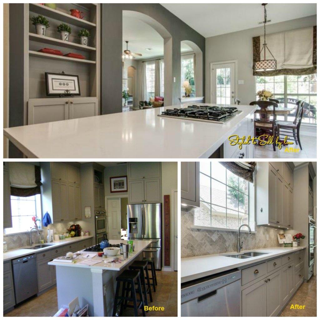 Fertitta Kitchen Collage