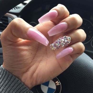 Acrylic Nails Pink Designs Path Decorations Pictures Full Path