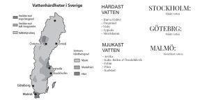 vattnets hårdhet stockholm