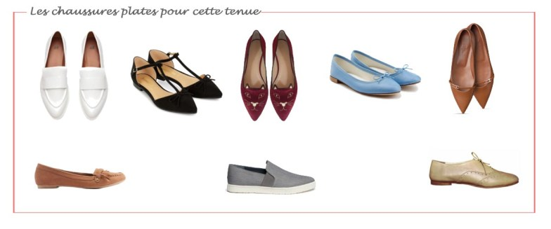 chaussures-plates