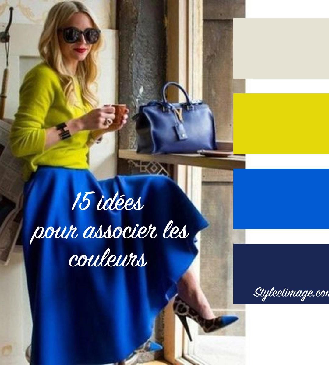 Vêtements: 15 idées pour associer les couleurs |