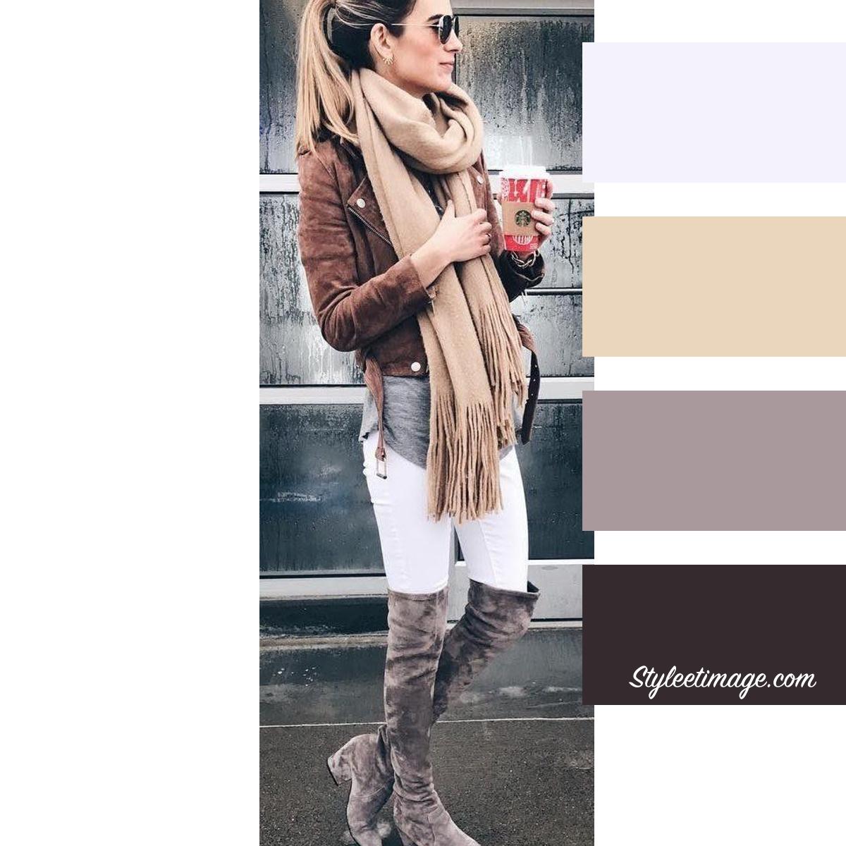 Quelle Couleur Se Marie Bien Avec Le Beige 15 idées pour associer les couleurs de vos vêtements |