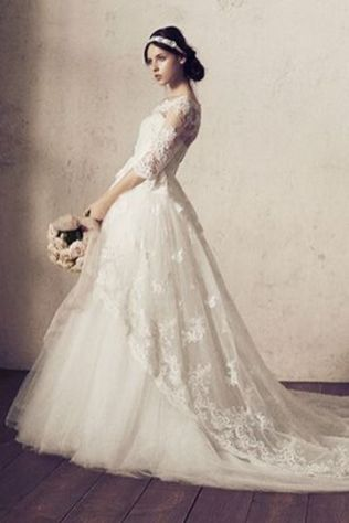 20+Collection of The Most Popular Wedding Dresses at The Moment Ideas 19