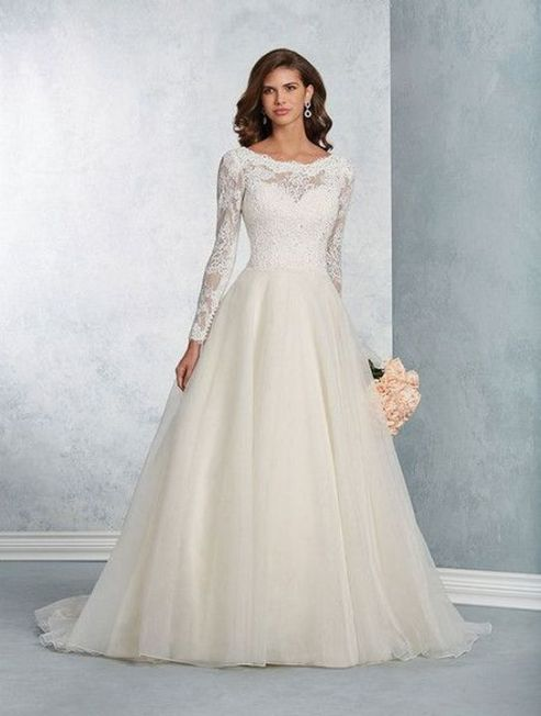 20+Collection of The Most Popular Wedding Dresses at The Moment Ideas 25