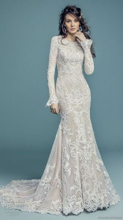 20+Collection of The Most Popular Wedding Dresses at The Moment Ideas 5
