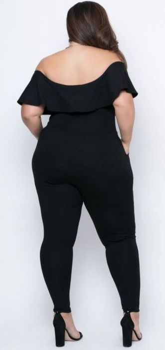 30 Fashion plus size outfit with black pants 18