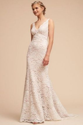 40 Beautiful wedding dresses for 40 year old brides ideas 29