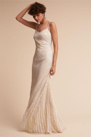 40 Beautiful wedding dresses for 40 year old brides ideas 5