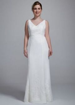 40 Beautiful wedding dresses for 40 year old brides ideas 6
