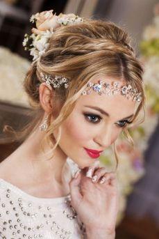 50Best wedding hair accessories ideas 26