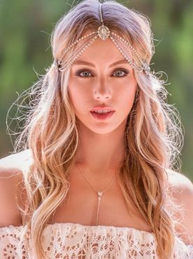 50Best wedding hair accessories ideas 47