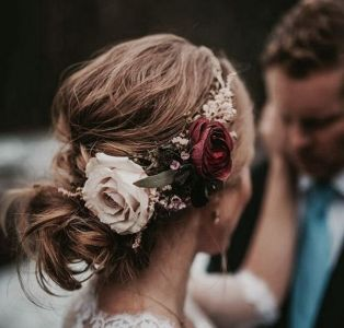 60+Bridal Flower Crowns Perfect for Your Wedding Ideas 10