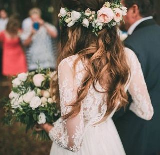 60+Bridal Flower Crowns Perfect for Your Wedding Ideas 2