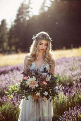 60+Bridal Flower Crowns Perfect for Your Wedding Ideas 20