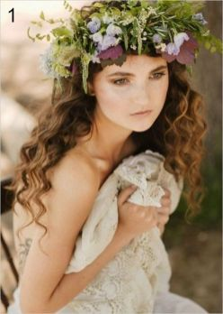 60+Bridal Flower Crowns Perfect for Your Wedding Ideas 49