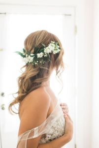 60+Bridal Flower Crowns Perfect for Your Wedding Ideas 8