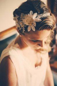 70+ Best Wedding lace headpiece Ideas 1