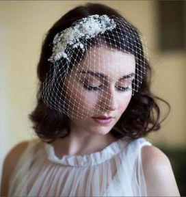 70+ Best Wedding lace headpiece Ideas 16