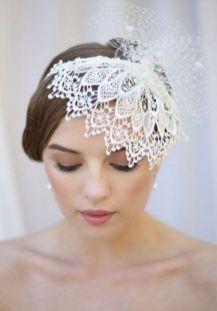 70+ Best Wedding lace headpiece Ideas 2