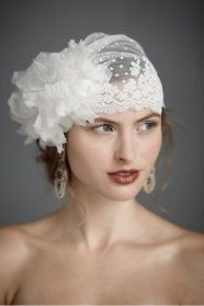 70+ Best Wedding lace headpiece Ideas 20