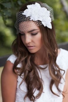 70+ Best Wedding lace headpiece Ideas 26
