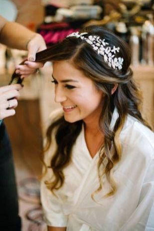 70+ Best Wedding lace headpiece Ideas 27