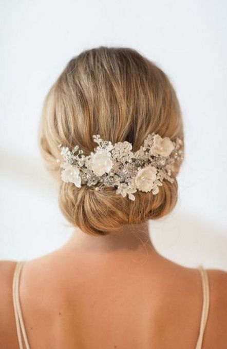 70+ Best Wedding lace headpiece Ideas 33