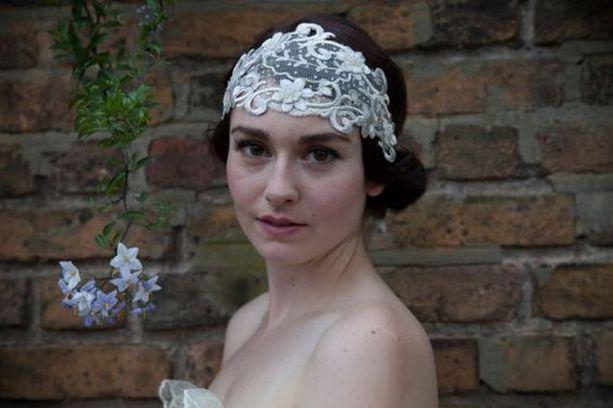 70+ Best Wedding lace headpiece Ideas 35