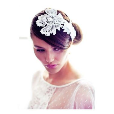 70+ Best Wedding lace headpiece Ideas 37