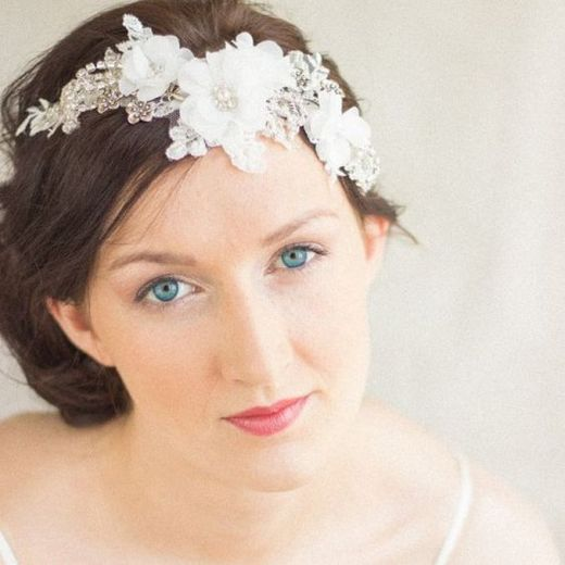 70+ Best Wedding lace headpiece Ideas 42