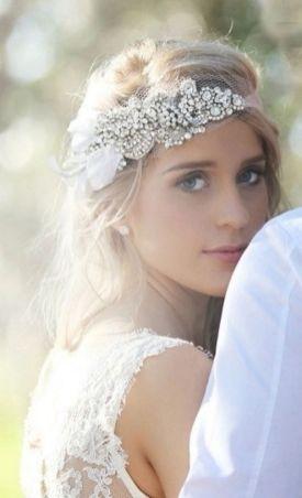 70+ Best Wedding lace headpiece Ideas 49