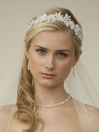 70+ Best Wedding lace headpiece Ideas 57