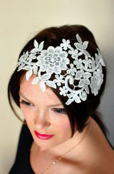 70+ Best Wedding lace headpiece Ideas 72