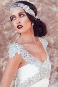 70+ Best Wedding lace headpiece Ideas 74