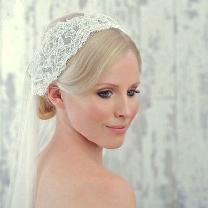 70+ Best Wedding lace headpiece Ideas 77