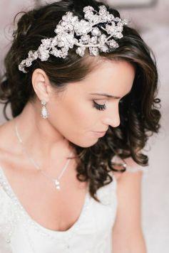 70+ Best Wedding lace headpiece Ideas 9