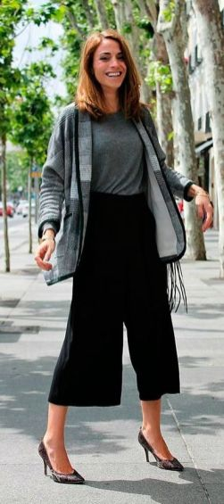 Beautiful Square Pants Outfit Ideas 10