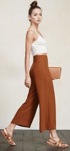 Beautiful Square Pants Outfit Ideas 2