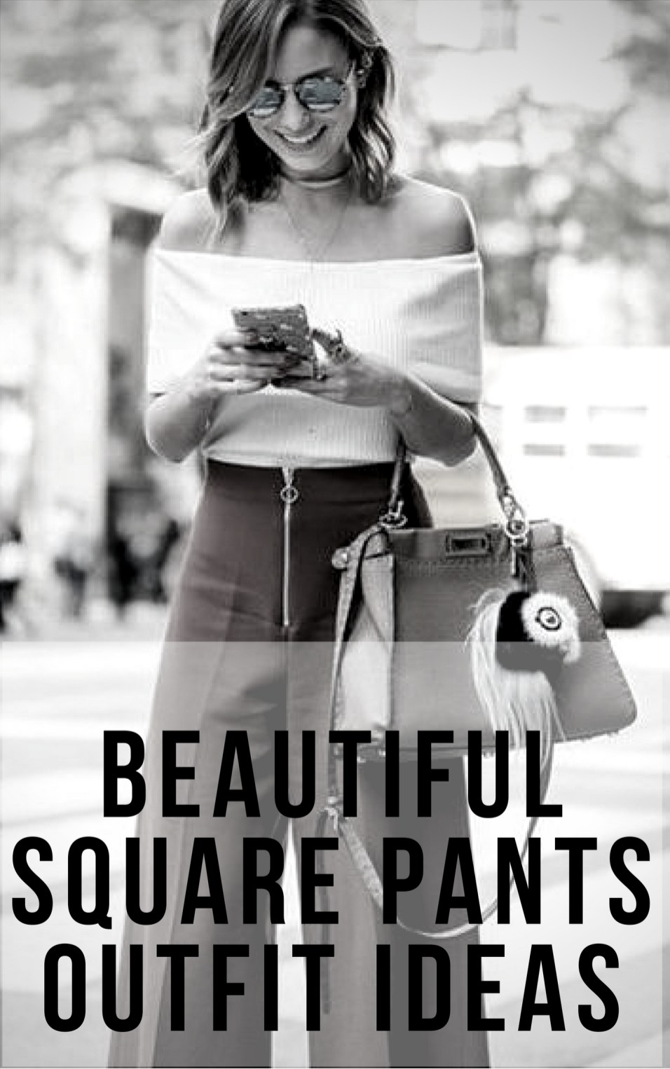 Beautiful square pants outfit ideas