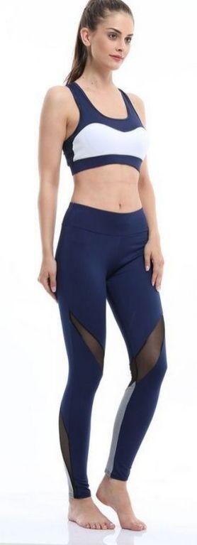 Beautiful yoga pants outfit ideas 14